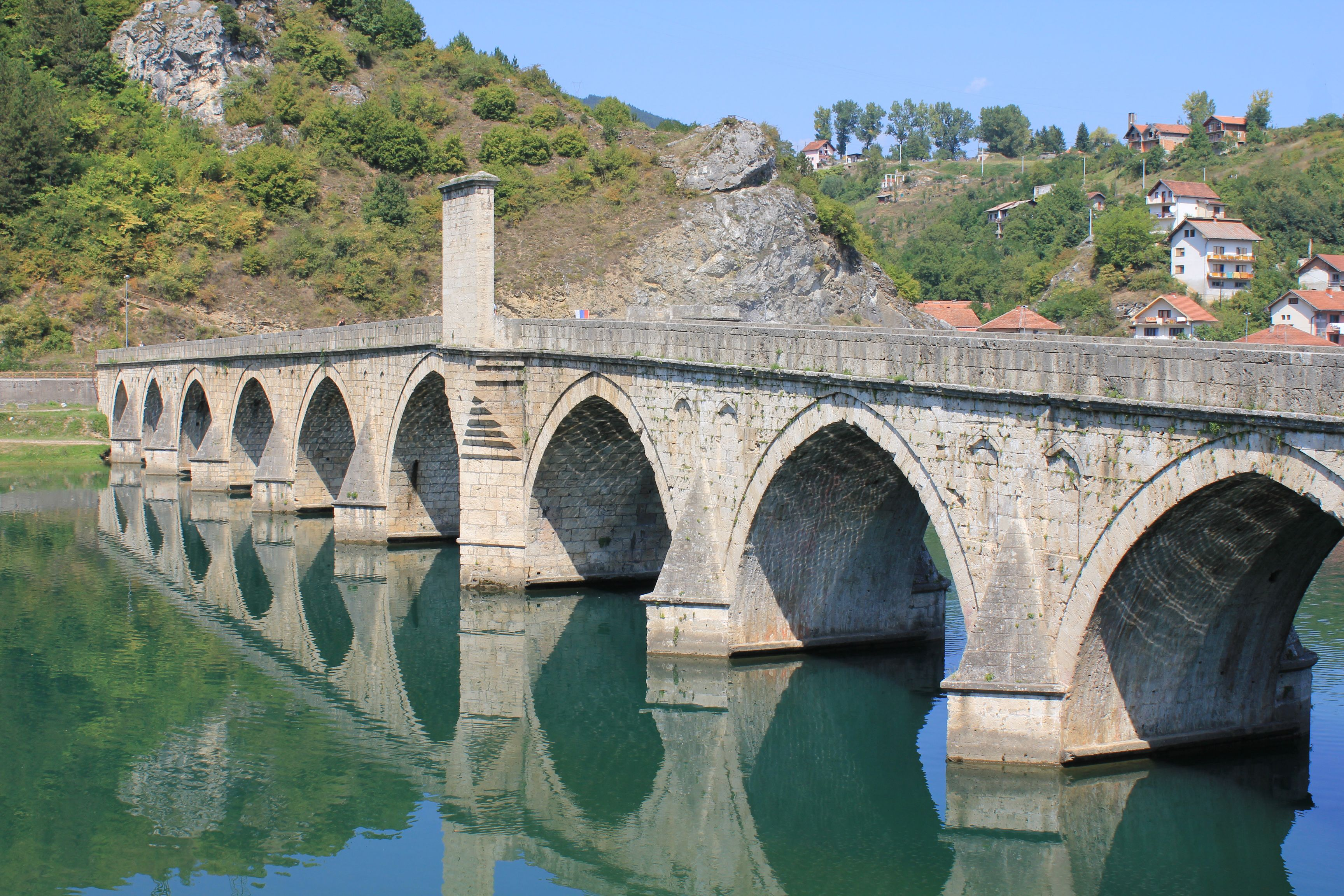 bridge on the drina This page was last edited on 15 march 2018, at 01:39 all structured data from the main and property namespace is available under the creative commons cc0 license text in the other.