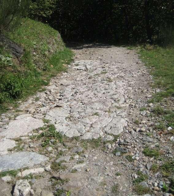 rough road leaving Brenzeglio