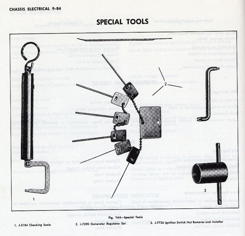 ignition bezel tool - the 1947