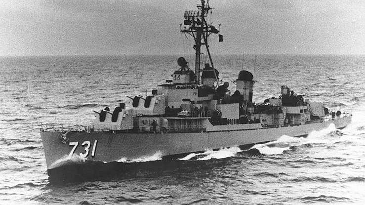 Americký torpédoborec USS Maddox (DD-731)